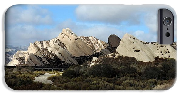Santa iPhone Cases - Mormon Rocks iPhone Case by Vicki Buckler