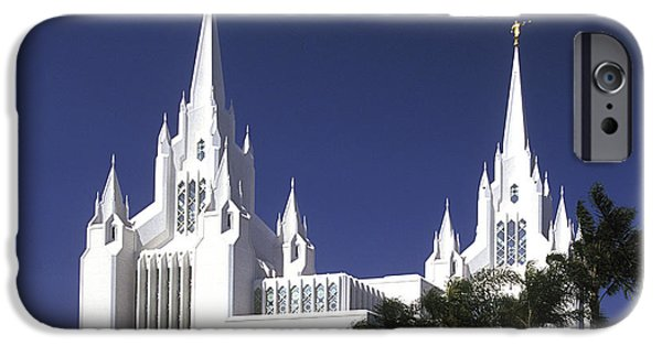 Impressions Of Light iPhone Cases - Mormon Temple iPhone Case by Paul W Faust -  Impressions of Light