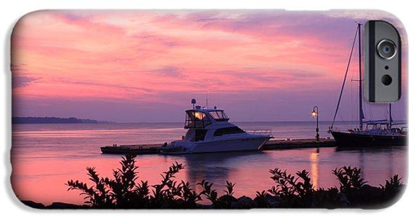 Yorktown iPhone Cases - Morning Delight Before Sunrise iPhone Case by Olahs Photography