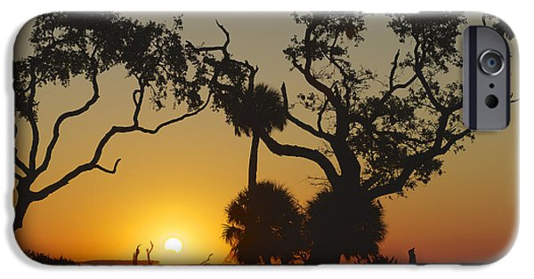 Solar Eclipse Digital iPhone Cases - Morning Eclipse iPhone Case by Phill  Doherty