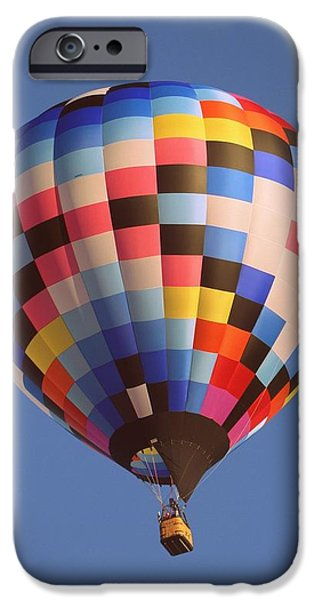 Hot Air Balloon iPhone Cases - Morning Flight iPhone Case by Marcella Johns