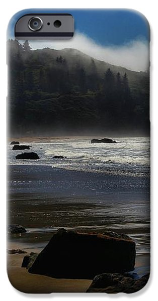 Morning Fog Burn iPhone Case by Adam Jewell