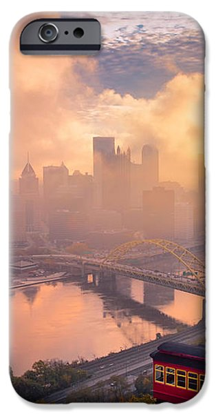 Morning Fog  iPhone Case by Emmanuel Panagiotakis