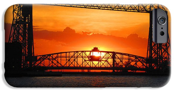 Duluth iPhone Cases - Morning Glory iPhone Case by Alison Gimpel