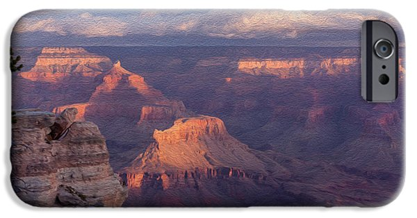 Red Rock iPhone Cases - Morning Glory iPhone Case by John Bailey