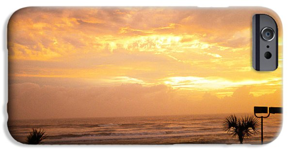 Sand Jewelry iPhone Cases - When The Sun Comes iPhone Case by Violeta Ianeva