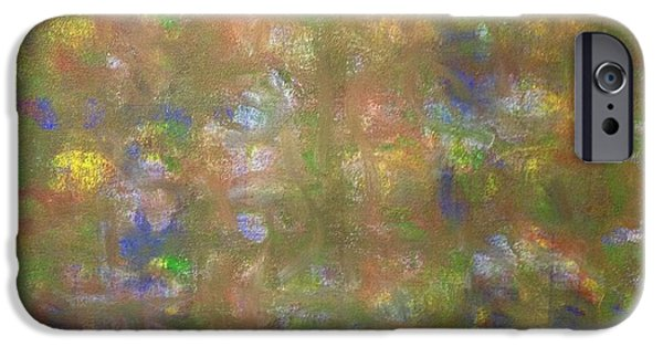 Conscious Paintings iPhone Cases - Morning Glow iPhone Case by Ross Girardi