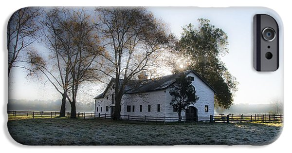 Dixon iPhone Cases - Morning in Whitemarsh - Widener Farms iPhone Case by Bill Cannon