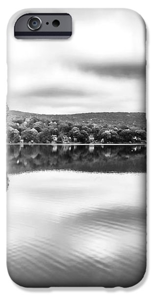 Morning Lake View iPhone Case by John Rizzuto