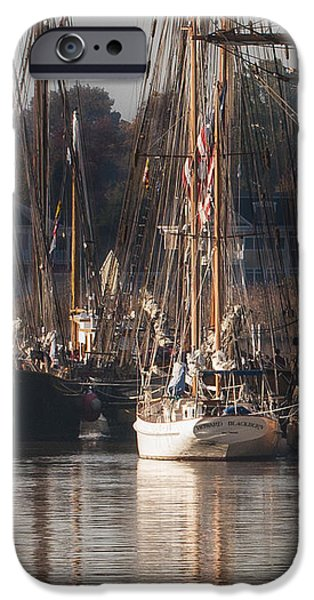 Morning Light - Chestertown Downrigging Weekend iPhone Case by Lauren Brice