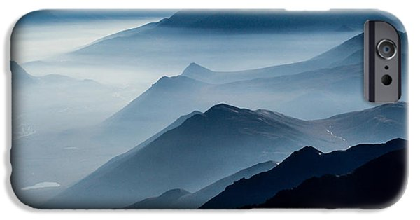 Fog iPhone Cases - Morning Mist iPhone Case by Chad Dutson