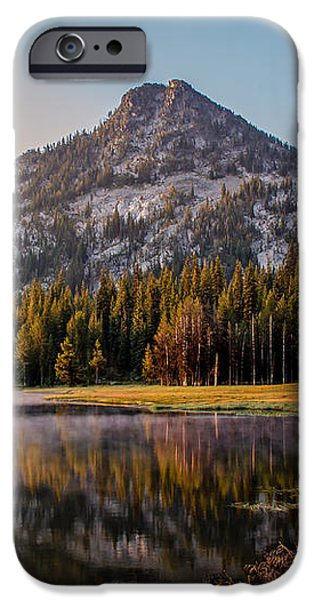 Morning Mist iPhone Case by Robert Bales