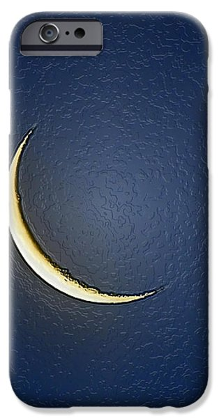 Morning Moon Textured iPhone Case by Al Powell Photography USA