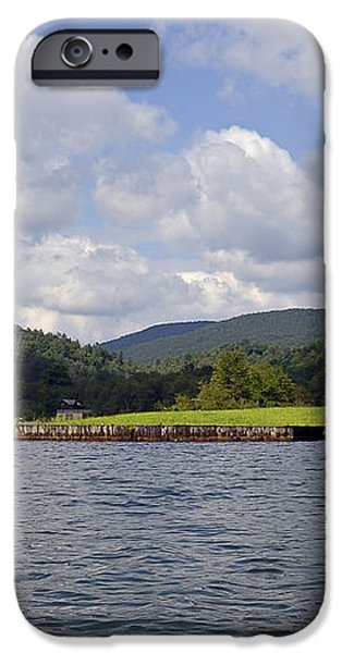 Morning on the Lake iPhone Case by Susan Leggett