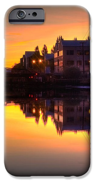 Morning on the River iPhone Case by Bill Gallagher
