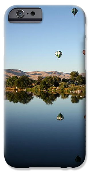 Morning on the Yakima River iPhone Case by Carol Groenen