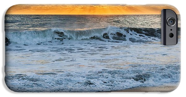 Seagull iPhone Cases - Morning Rays iPhone Case by Bill  Wakeley