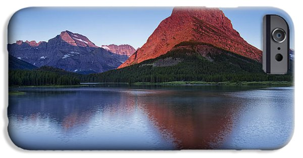 Fine Art Photography iPhone Cases - Morning Reflections iPhone Case by Andrew Soundarajan