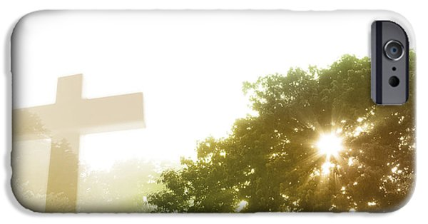 Miracle Photographs iPhone Cases - Morning spirit iPhone Case by Les Cunliffe