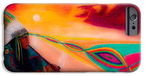 Vibrant Pastels iPhone Cases - Morning Toke iPhone Case by Cooper Molumby
