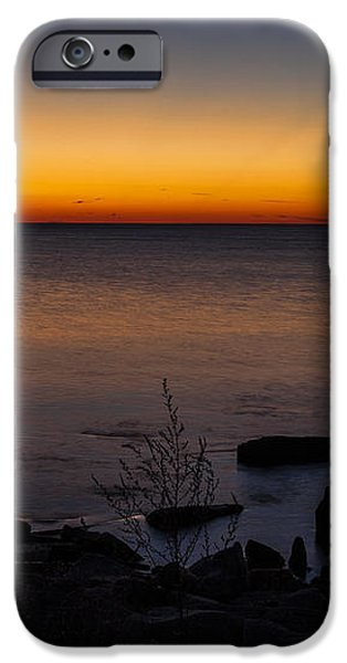 Morning Water Colors iPhone Case by CJ Schmit