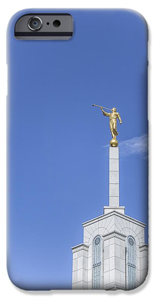 Angel Moroni iPhone Cases - Moroni iPhone Case by Tony Maduro