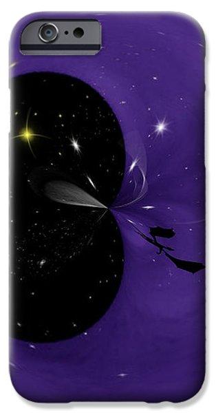 Morphed Art Globe 6 iPhone Case by Rhonda Barrett
