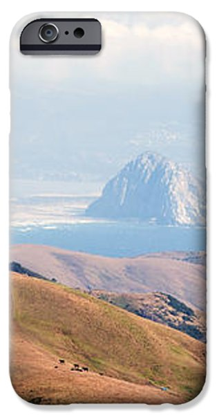 Morro Bay Rock Vista Overlooking Highway 46 Paso Robles California iPhone Case by Artist and Photographer Laura Wrede
