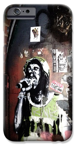 Dude Art iPhone Cases - Mos Def iPhone Case by Natasha Marco
