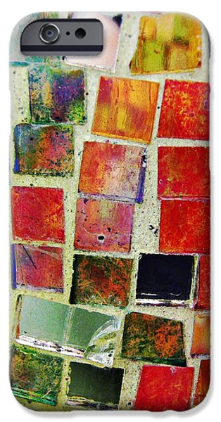 Mosaic iPhone Cases - Mosaic 17 iPhone Case by Sarah Loft