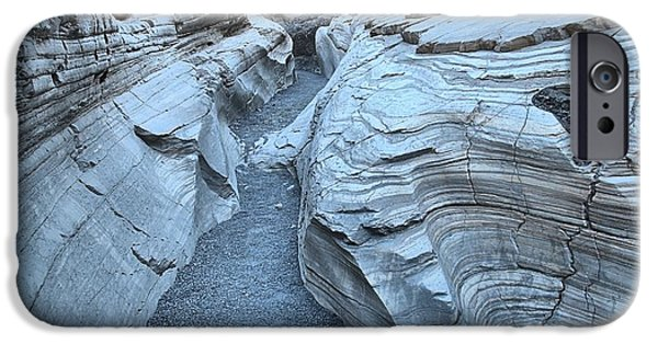 Mosaic iPhone Cases - Mosaic Canyon Contours iPhone Case by Adam Jewell