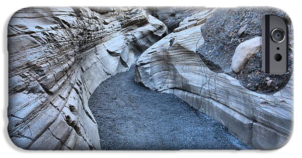 Mosaic iPhone Cases - Mosaic Canyon Narrows iPhone Case by Adam Jewell