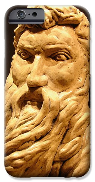 Moses Michelangelo  iPhone Case by Joseph Hawkins