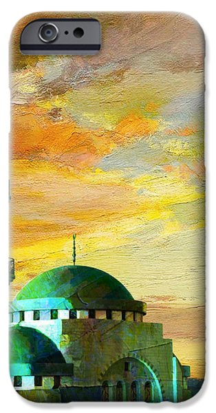 Mosque Jordan iPhone Case by Catf