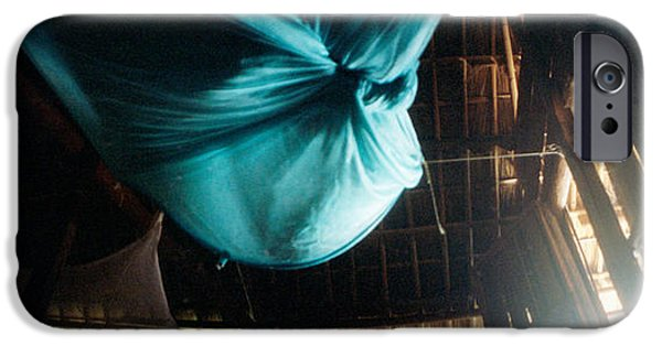 Netting iPhone Cases - Mosquito Net In A Bungalow, Chiang Mai iPhone Case by Panoramic Images
