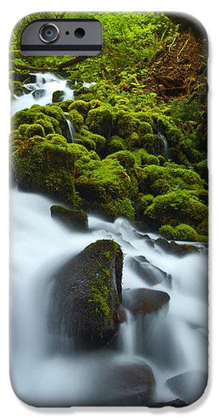 Mossy Creek Cascade iPhone Case by Darren  White