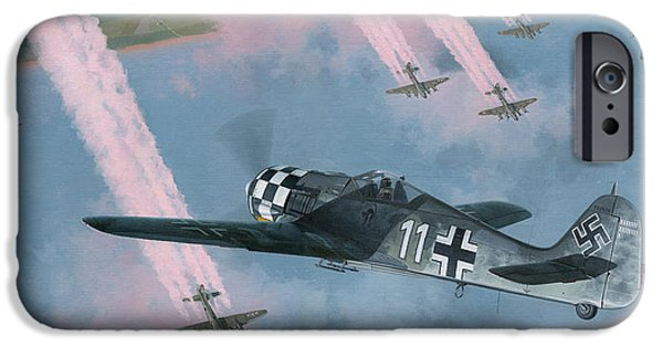 P-51 iPhone Cases - Most Dangerous Game iPhone Case by Wade Meyers