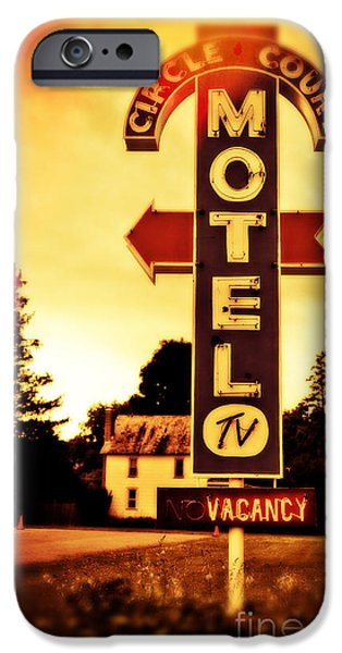 Upstate New York iPhone Cases - Motel Hell iPhone Case by Edward Fielding