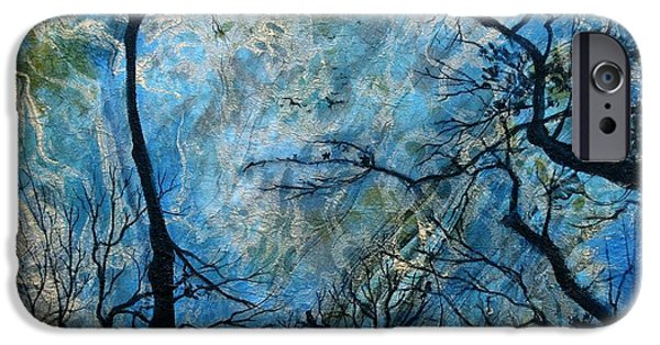 Mystifying iPhone Cases - Mother Nature Is Watching iPhone Case by Cathy Geiger