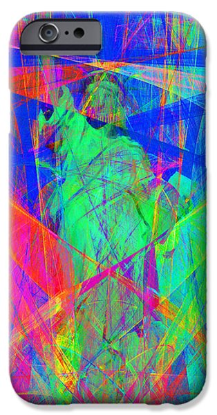 Fourth Of July iPhone Cases - Mother of Exiles 20130618 Long iPhone Case by Wingsdomain Art and Photography