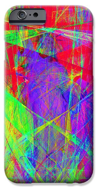 Fourth Of July iPhone Cases - Mother of Exiles 20130618p120 Long iPhone Case by Wingsdomain Art and Photography