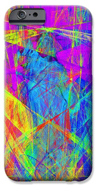 Fourth Of July iPhone Cases - Mother of Exiles 20130618p60 Long iPhone Case by Wingsdomain Art and Photography