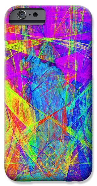 Fourth Of July iPhone Cases - Mother of Exiles 20130618p60 iPhone Case by Wingsdomain Art and Photography