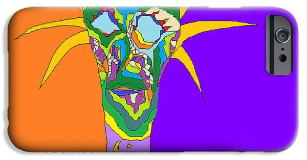 Nature Abstract Sculptures iPhone Cases - Mother of Nature iPhone Case by Willie Anicic
