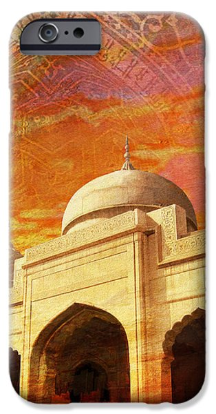 Moti Masjid iPhone Case by Catf