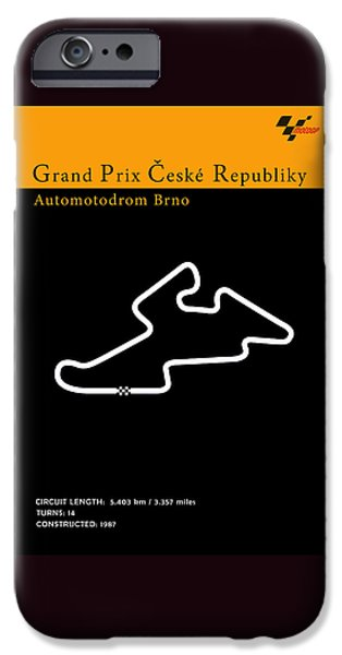 Suzuki iPhone Cases - MotoGP Czech Republic iPhone Case by Mark Rogan