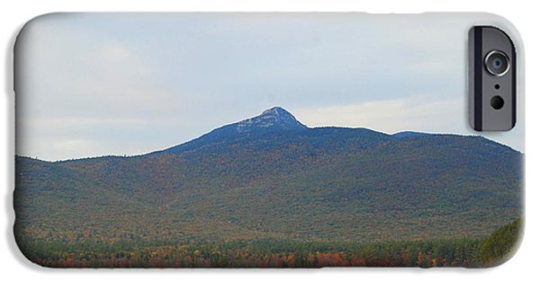 Mt Chocorua iPhone Cases - Mount Chocorua iPhone Case by Eunice Miller