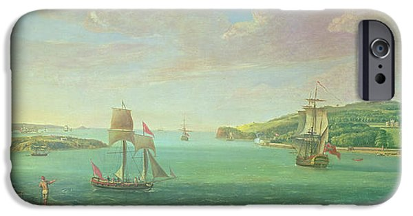 Plymouth iPhone Cases - Mount Edgcumbe iPhone Case by Banfield