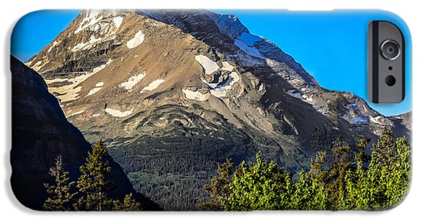 Going Green iPhone Cases - Mount Jackson  iPhone Case by Robert Bales