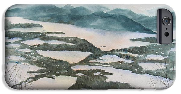 Recently Sold -  - New England Snow Scene iPhone Cases - Mount Philo Winter iPhone Case by Amanda Amend
